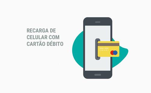Recarga da Oi com cartão de débito